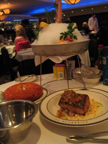 Oceanaire dinner