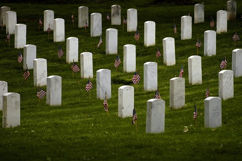 'Flags-In' at Arlington National Cemetery for Memorial Day 2008