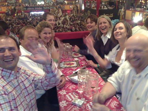 Munchen Oktoberfest - Great Friends in the Hippodrom