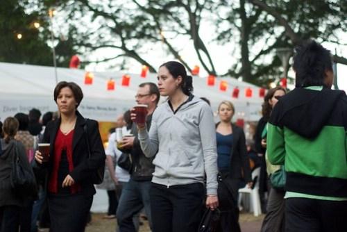 Sydney Night Noodle Markets, Hyde Park - part of Good Food Month