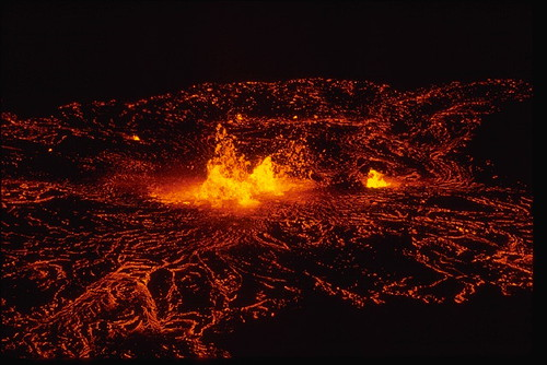 Eruption of Kilauea