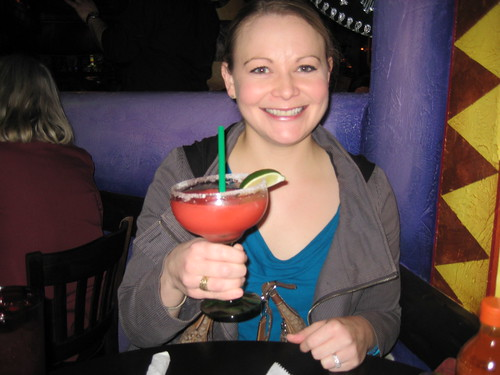 me with wildberry margarita