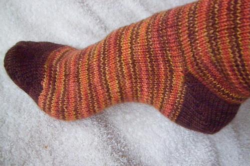 autumn sock details