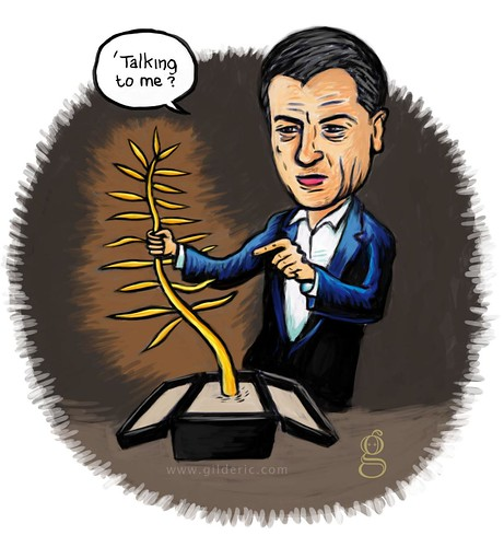De Niro vs la Palme d'Or (Festival de Cannes 2011) - Illustration : Gilderic
