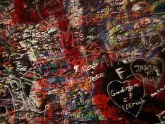 "Graffiti at ""Juliet's Balcony"""