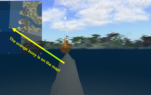 Terraforming under the orange buoy!