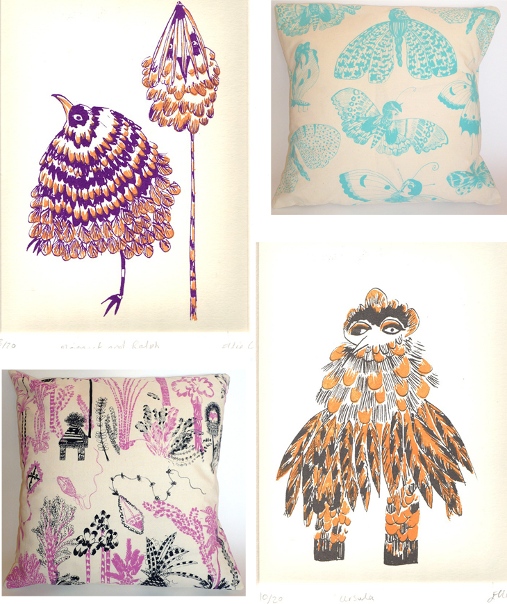Ellie Curtis {prints and pillows}