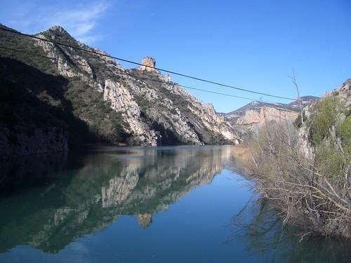 El pantà de Sant Llorenç de Montgai