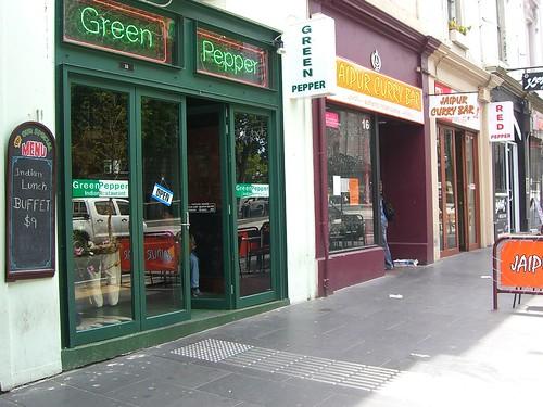 red green pepper melbourne