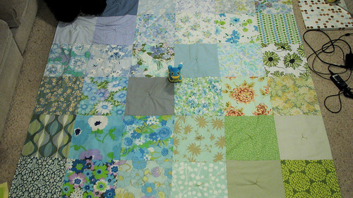 The finished quilt