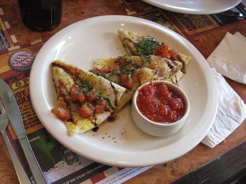 Chicken Parmesan Quesadilla
