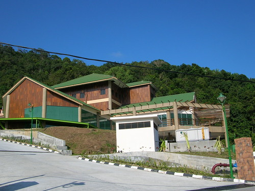 New building at Penang National Park entrance
