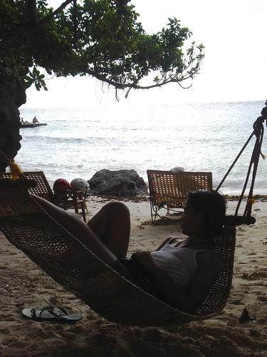 lounging at baling hai