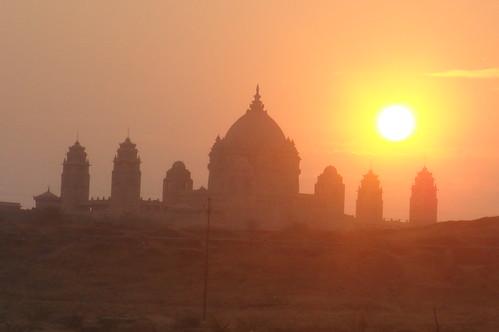 Jodhpur街景1-13日出