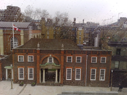 From my hotel room, London, 2008