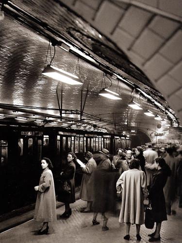 Metro Madrid-años 50