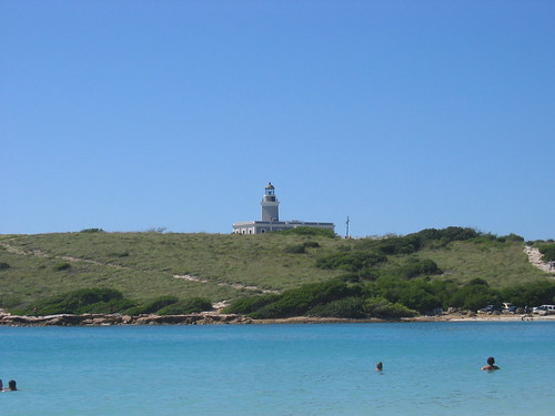 El faro, Cabo Rojo - view from la playa Santa
