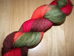 skein of yummy yarn