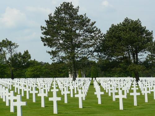 Cemetery near Omaha Beach