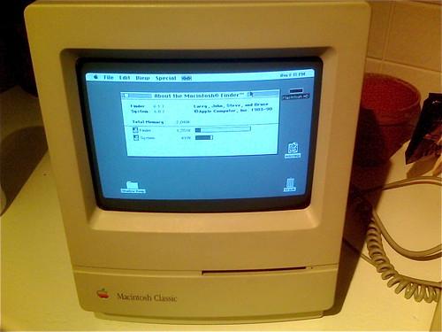 Mac Classic Retro