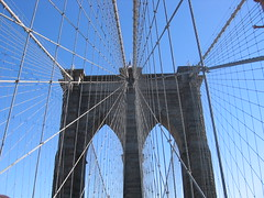 The Brooklyn bridge, 2005
