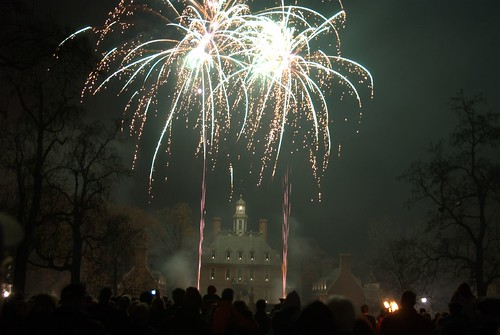 Colonial Williamsburg Grand Illumination by skibradshaw.