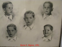 Byron at an early age