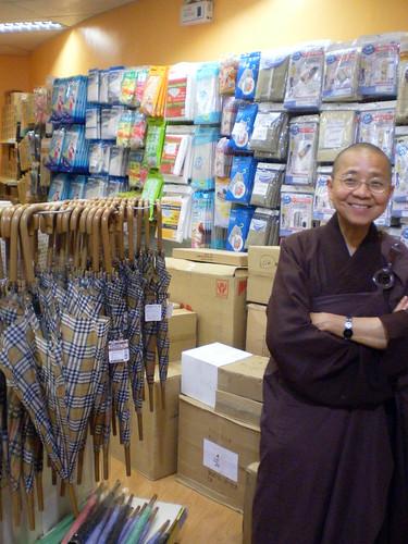 Lady monk