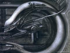 Alien, de Giger - Faça o download deste papel de parede - CLIQUE AQUI