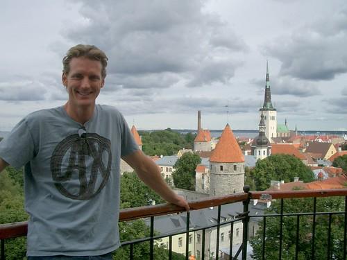 Overlooking the Walls of Tallinn