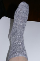 Snowflake Lace Sock #1