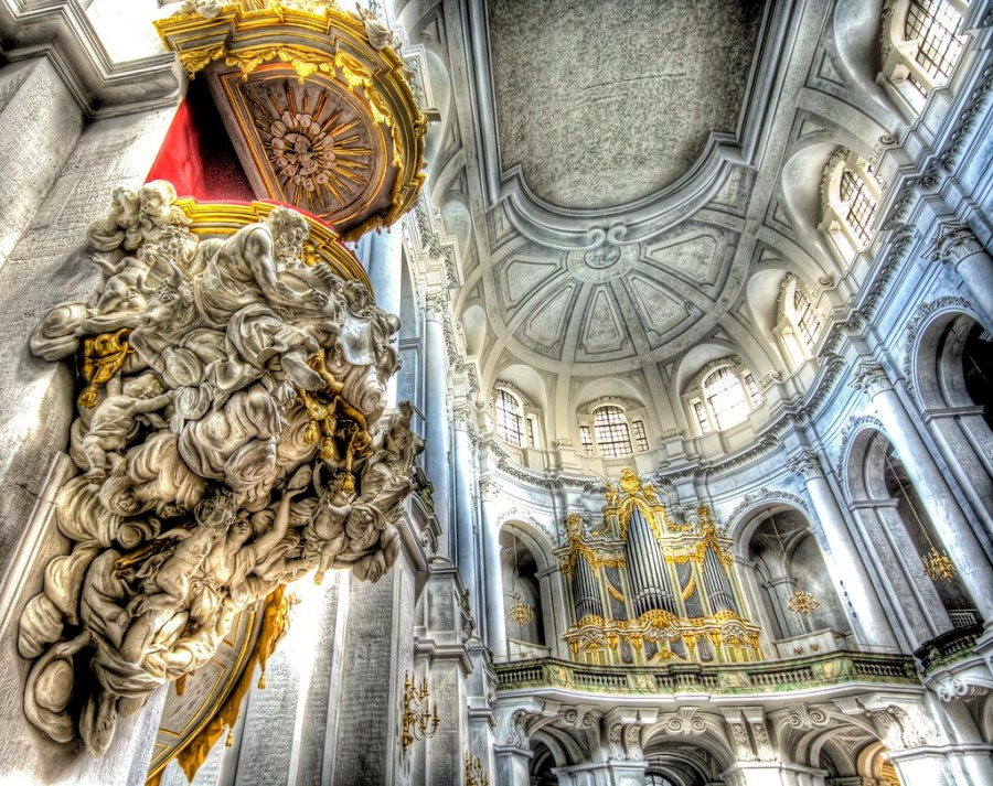 The Pulpit for the Most Holy of Cardinals