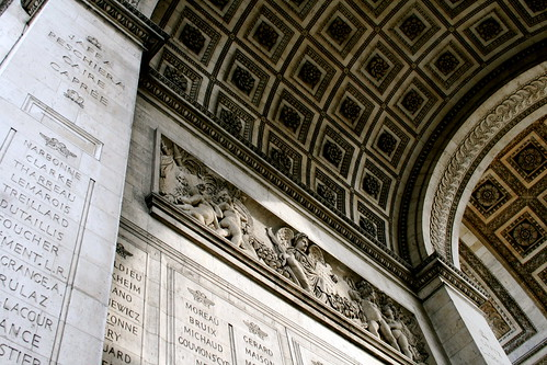 Look Up More. Arc de Triomphe.