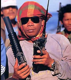 Somali pirate or American cross-dressing gangsta rapper MC Jemima?  You make the call!