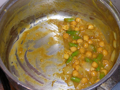 ChickPeaGreenBeanCurry