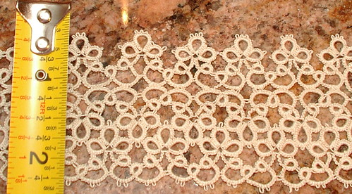 2 inch wide tatting