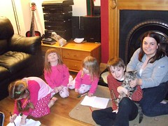Ann and the kids