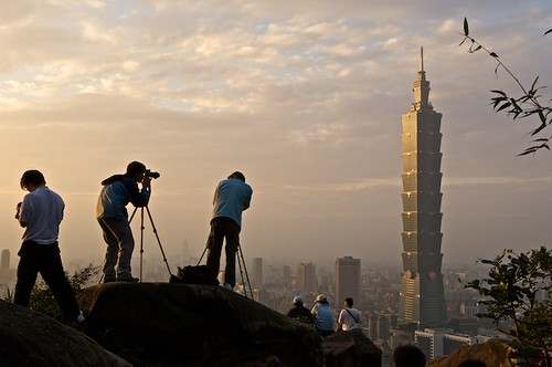 Dont think youre going to be the first one to take a picture of Taipei from Elephant Mountain!