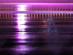 Shiny wet ice