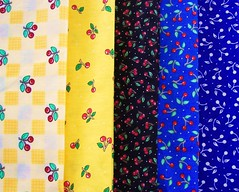 Mary Engelbreit Fabrics-cherries