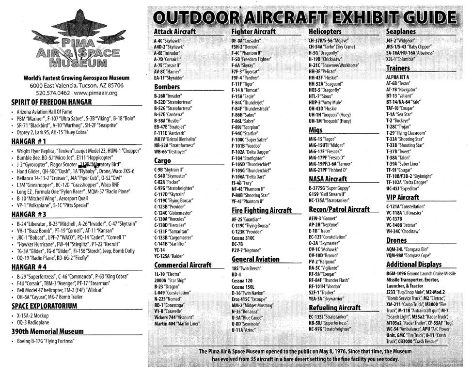 [Bericht] Davis-Monthan AFB / Pima Air Museum, Tucson