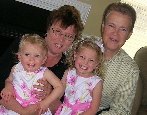 Nana and Papa and Girls
