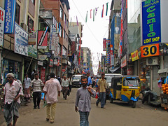 Sri Lanka - 012 - Market street around Fort St...