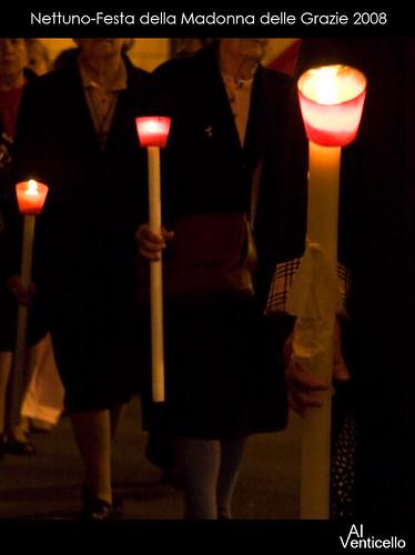 La processione - particolare