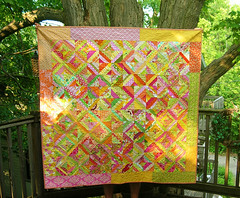 Finished the Love Circle's April do. Good Stitches Quilt!