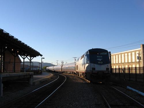Amtrak to NY
