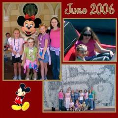 Disneyland June 2006