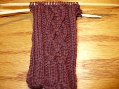brown sock 001