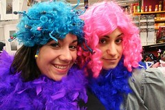 crazy gals in wigs