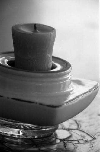 Unlit Candle